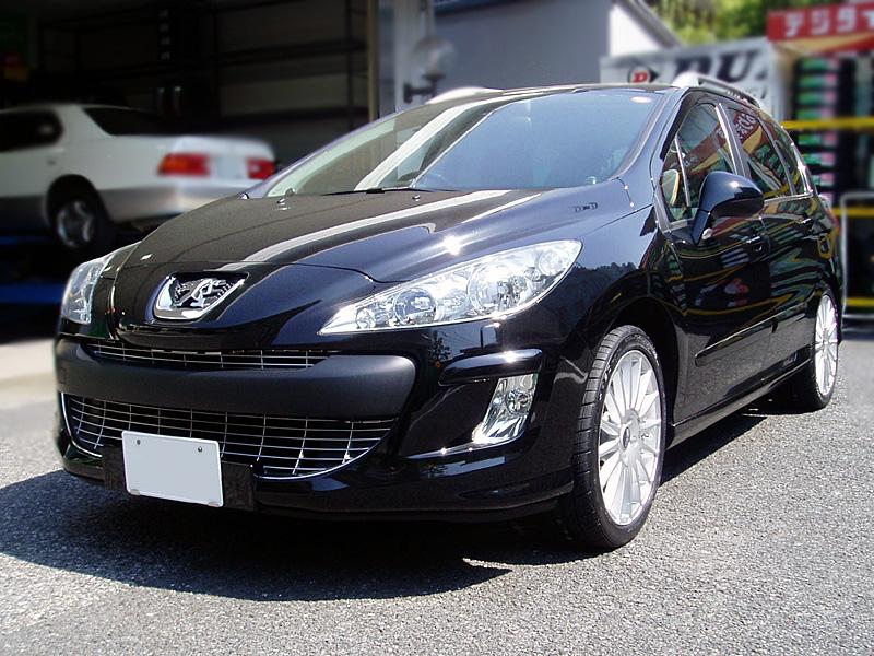 矢東タイヤ Import Car 装着画像 Peugeot