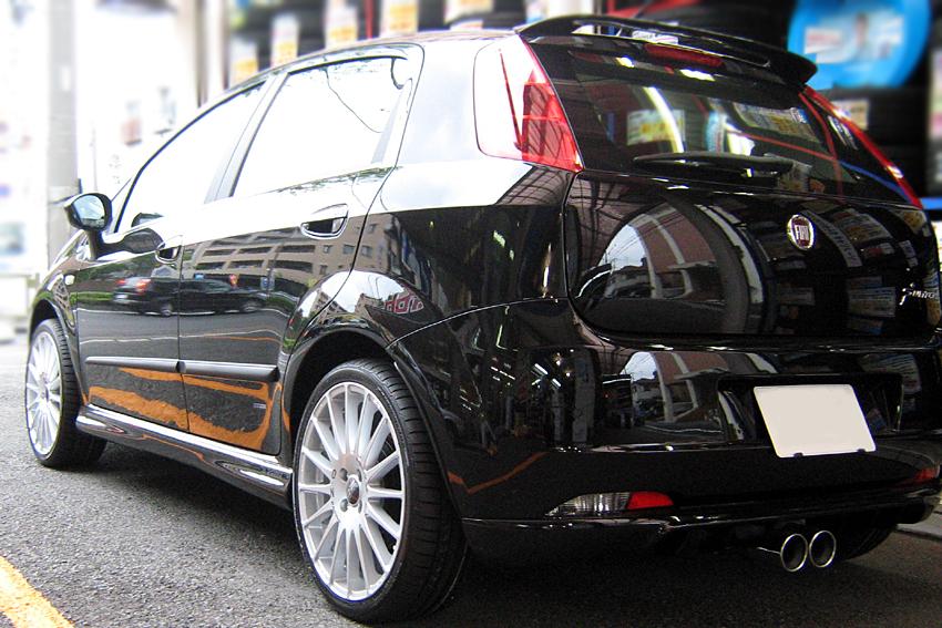矢東タイヤ Import Car 装着画像 Fiat